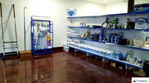 Exposição produtos CTX Lafoquímica